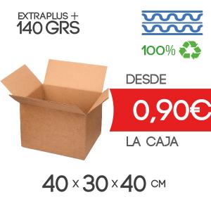 Cajas de Cartón de 40x30x40 cm Exterior en Canal Doble Modelo B-1