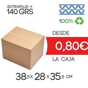 Cajas de Cartón de 38.5x28x35.5 cm Exterior de Canal Doble Modelo B-1
