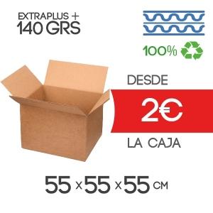 Cajas de Cartón de 55x55x55 cm Exterior en Canal Doble Modelo B-1