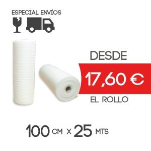 Foam Rollo Espuma Polietileno 100cm Exteriorx25m