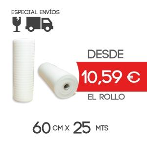 Foam Rollo Espuma Polietileno 60cmx25m