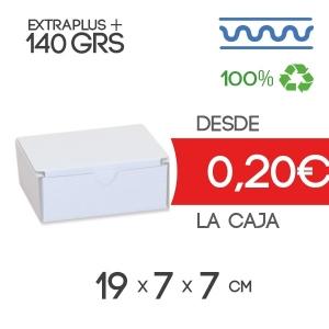 Caja de Cartón Automontable con tapa incorporada 19 x 7 x 7 cm Exterior
