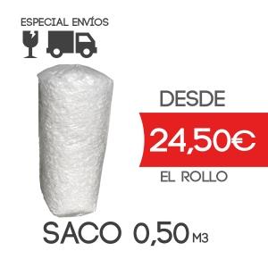 Material de relleno de embalaje - Forma de cubo