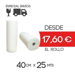 Foam Rollo Espuma Polietileno 40cmx125m