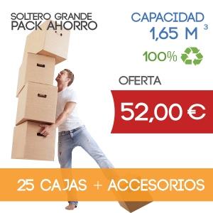 Pack para Mudanzas Soltero Grande