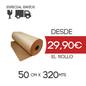 Rollo papel Kraft 60cm x 667 metros