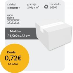 Cajas de Cartón 31,5x24x33...
