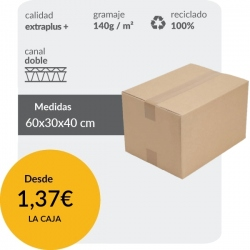 Cajas de Cartón 60x30x40 cm...