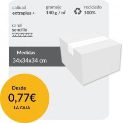 Cajas de Cartón de 34x34x34...