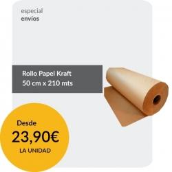 Rollo papel Kraft 50cm...