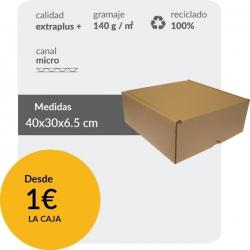 Caja automontable...